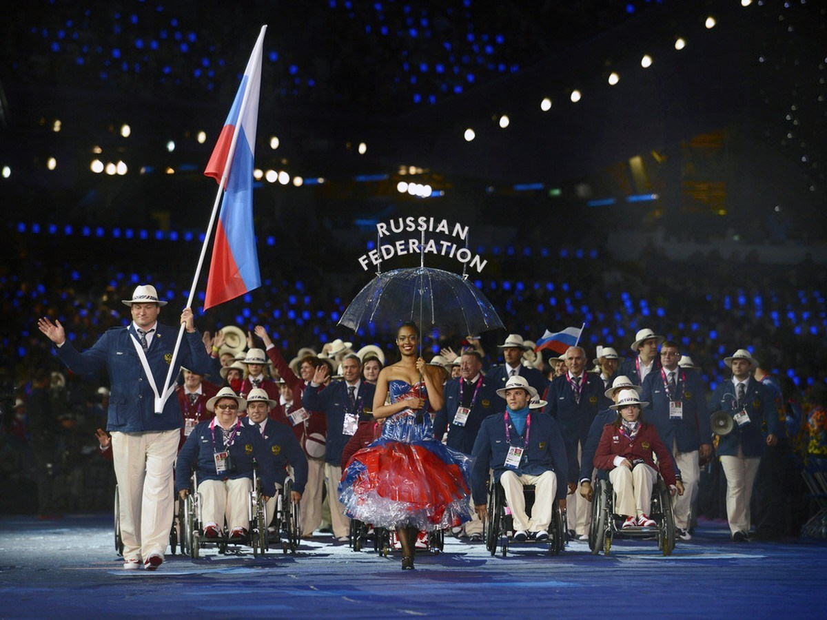 Russia Paralympics Opening Ceremony London 2012