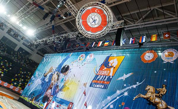 Samsun Judo event poster