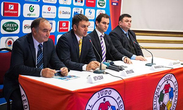 Samsun Judo press conference