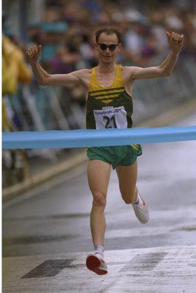 Steve Moneghetti wins in Victoria 1998
