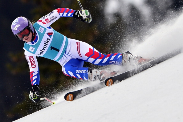 Tessa Worley won gold in the giant slalom at the 2013 FIS Alpine Skiing World Championships last month