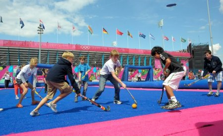 The Give it a Go initiative is helping to build on the London 2012 hockey legacy