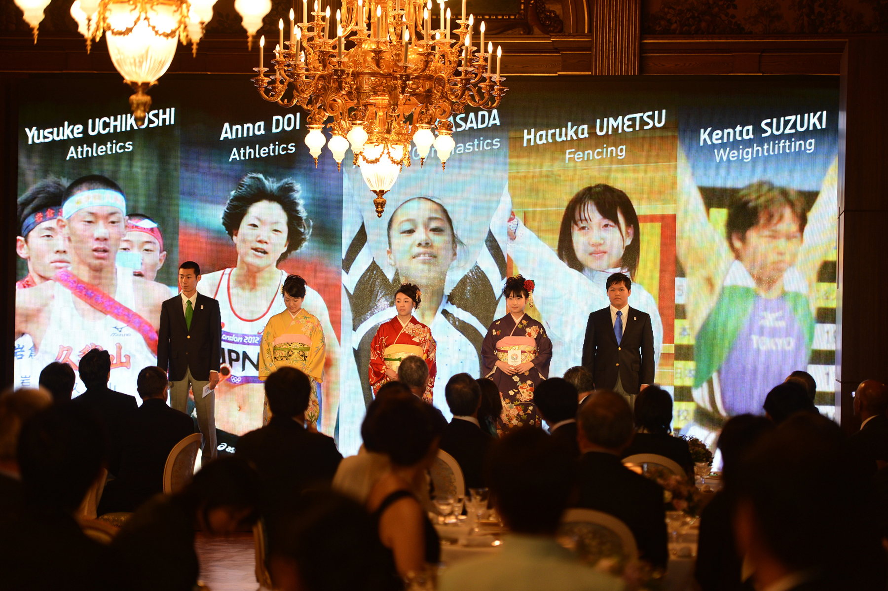 Tokyo 2020 dinner for IOC Evalution Commission March 6 2013