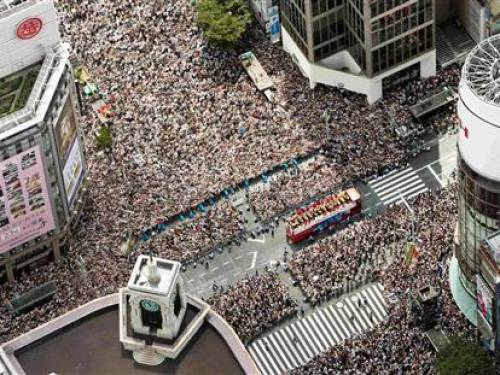 Tokyo parade to welcome home London 2012 medallists