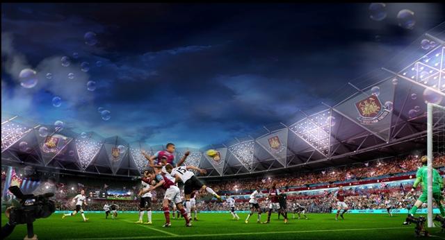 West Ham Olympic Stadium 1 March 2013