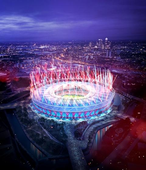 West Ham Olympic Stadium 2 March 2013