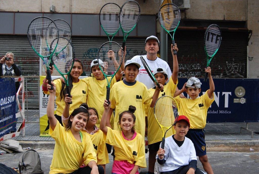 World Tennis Day 1