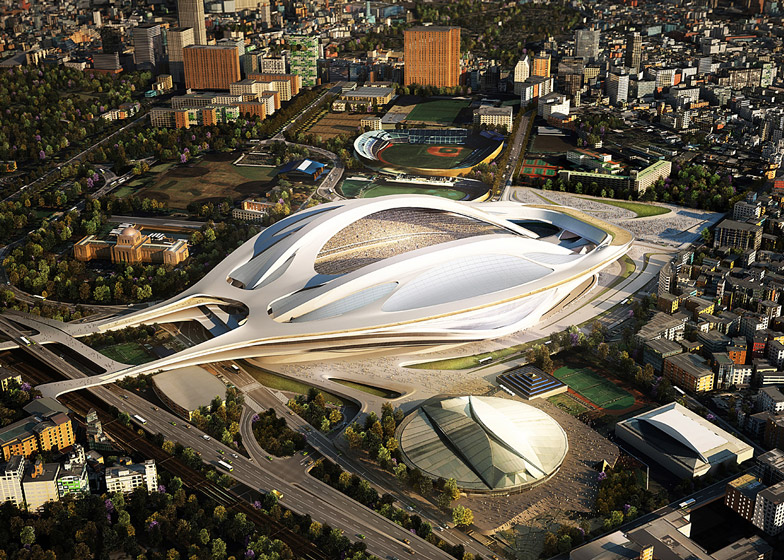 Zaha Hadid Tokyo 2020