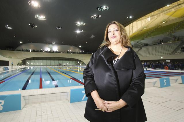 Zaha Hadid aquatics centre