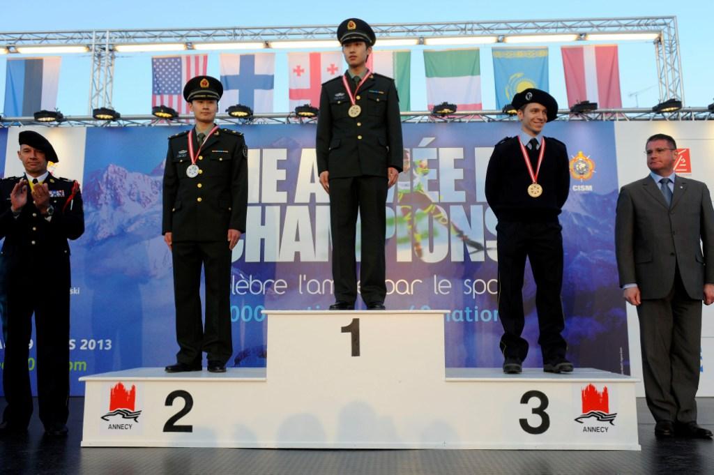 cism 500m mens short track medals