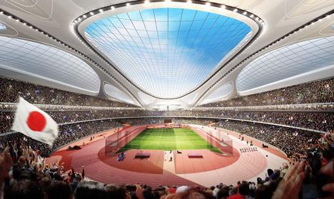 dezeen Japan-National-Stadium-by-Zaha-Hadid-Architects 2
