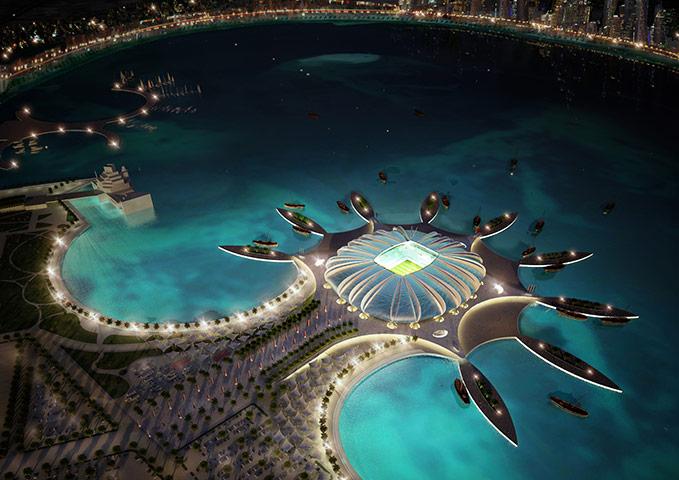 Doha Port stadium Qatar 2022
