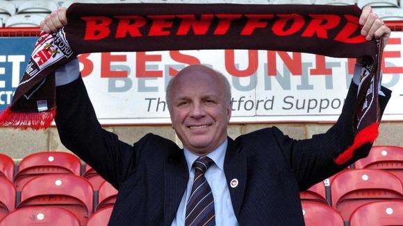 Greg Dyke at Brentford FC