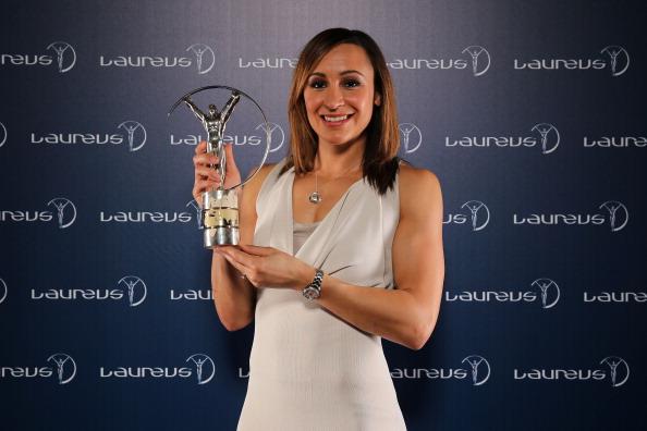 Jessica Ennis with Laureus Award Rio March 11 2013