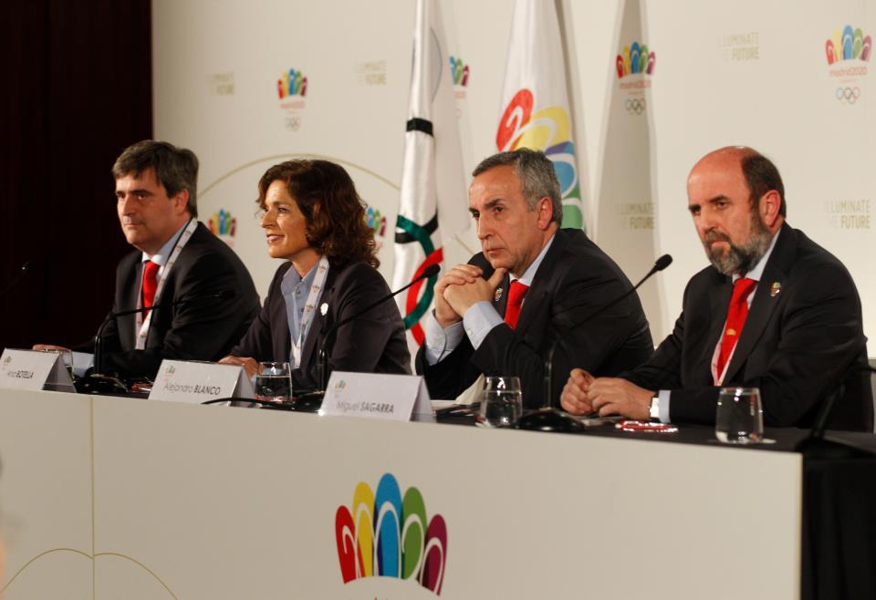 Madrid 2020 bid committee March 21 2013