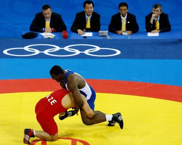 Olympic wrestling London 2012