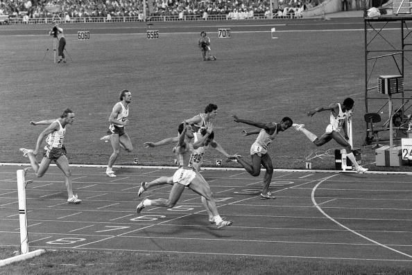 Pietro Mennea wins 200m Moscow 1980