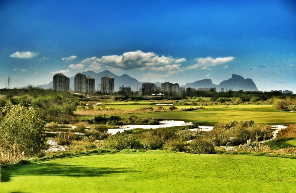 Rio 2016 golf course Hanse design