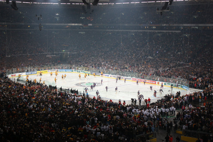 Veltins Arena World Ice Hockey Championships 2010