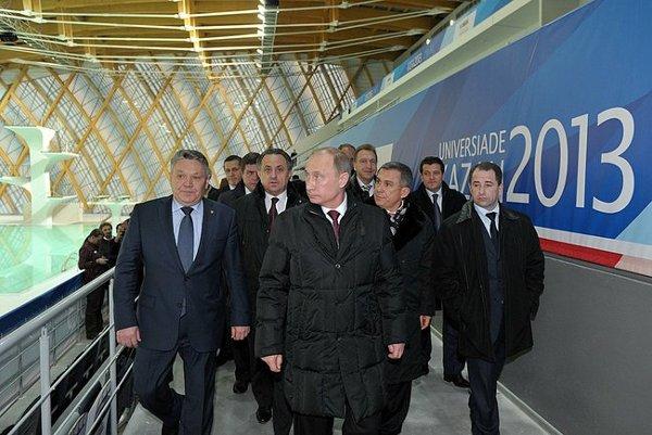 Vladimir Putin at Kazan 2013