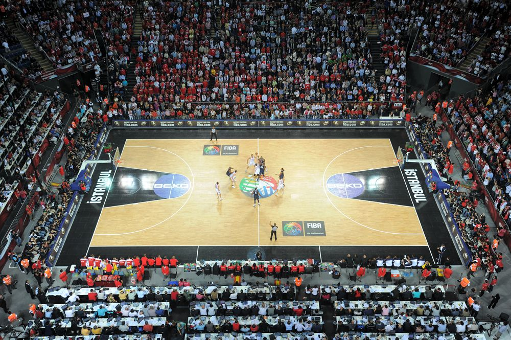2010 FIBA World Championship  Final Round Istanbul Turkey
