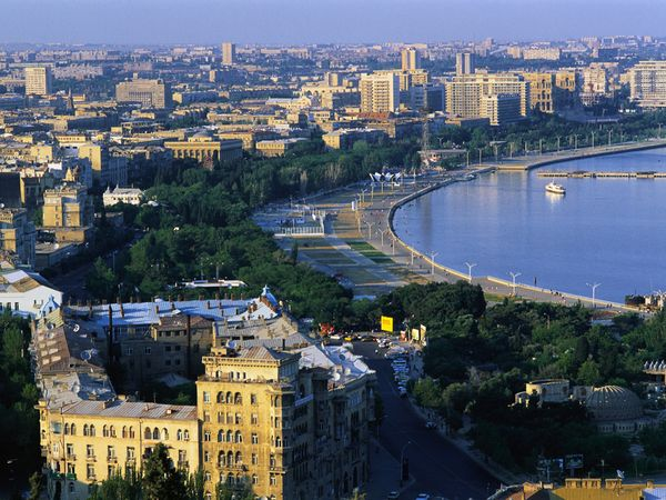 Baku general view