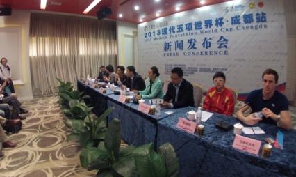 Chengdu UIPM Press Conference April 16 2013