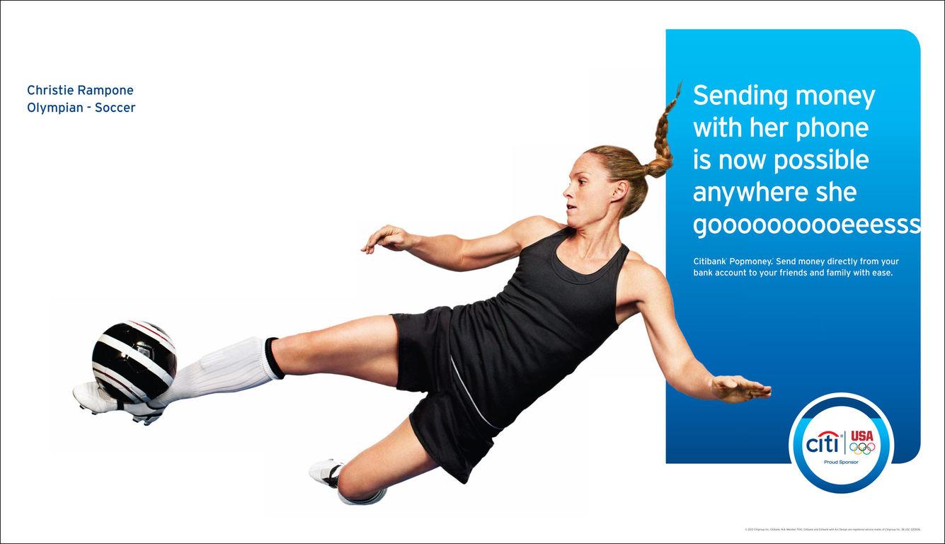Citi Bank London 2012 advert