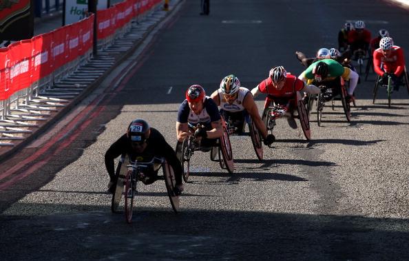 David Weir London Marathon
