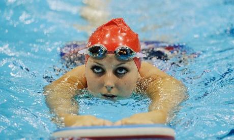 Jessica-Jane Applegate in pool