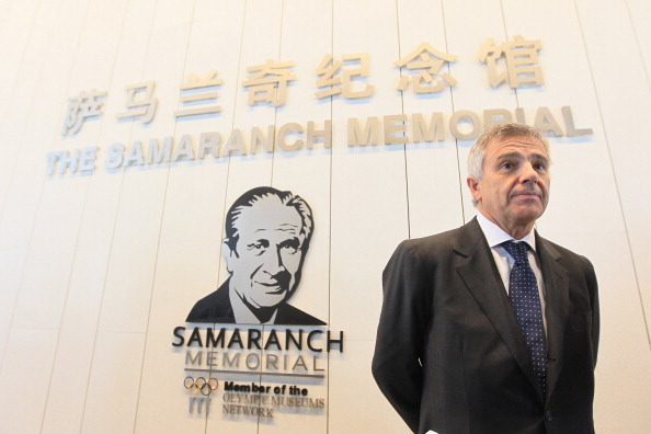 Juan Antonio Samaranch at Samaranch Memorial April 21 2013