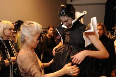 Junko Shimada with Lady Gaga