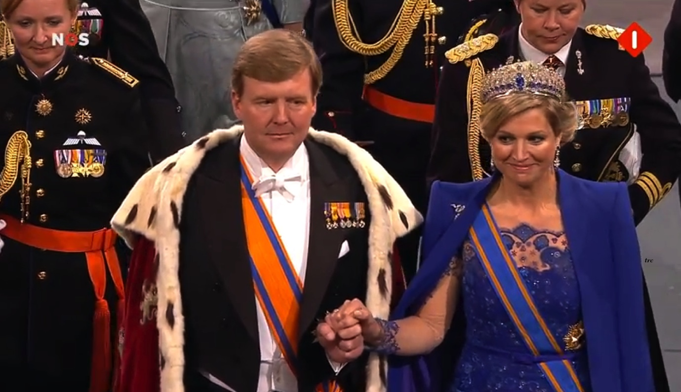 King Willem-Alexander Coronation April 30 2013