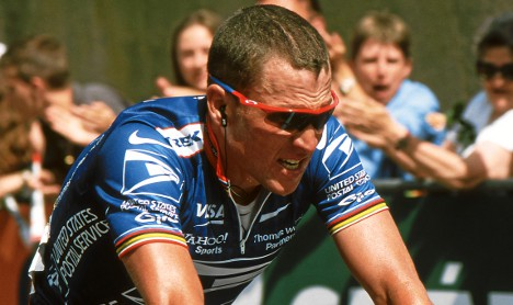 Lance Armstrong Tour of Switzerland 2001
