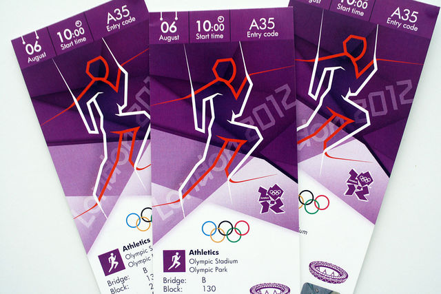 London 2012 tickets athletics