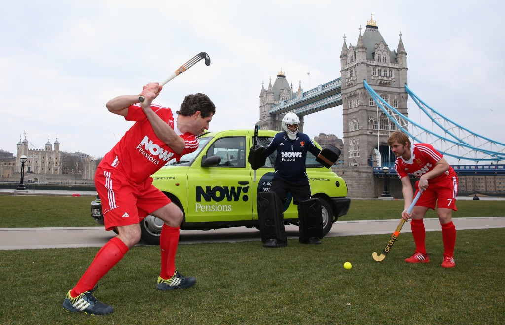 NOW Pensions England Hockey Launch April 2013 c Getty Images 1