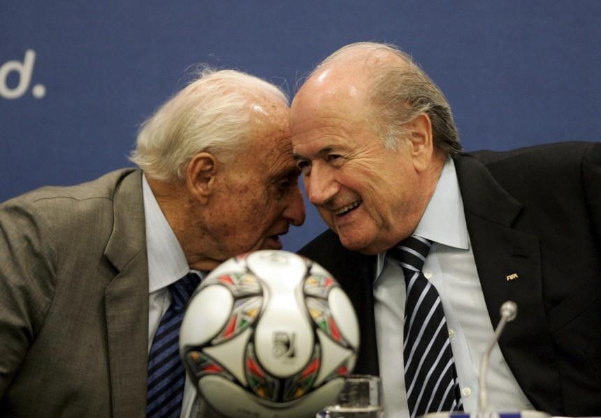 Sepp Blatter with Joao Havelange