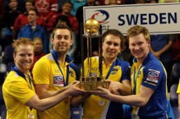 Sweden mens curling world champs