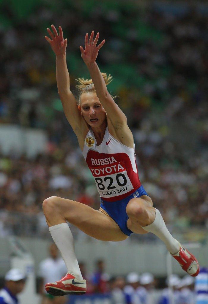 Tatyana Kotova at Osaka 2007