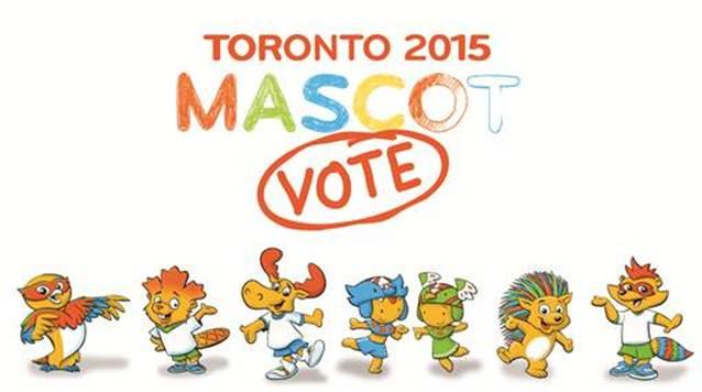 Toronto 2015 mascots