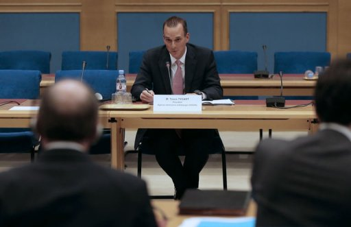 Travis Tygart giving evidence to French Senate April 25 2013