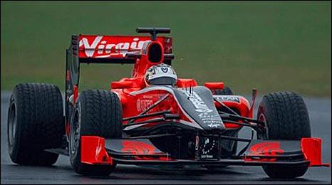 Virgin Formula One car