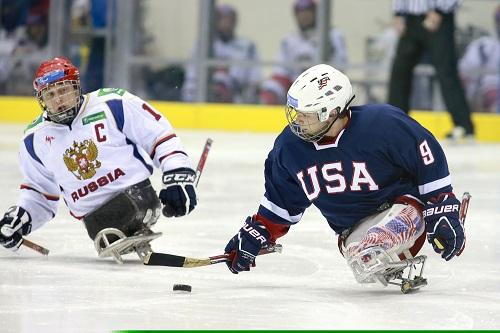 ice sledge hockey usa