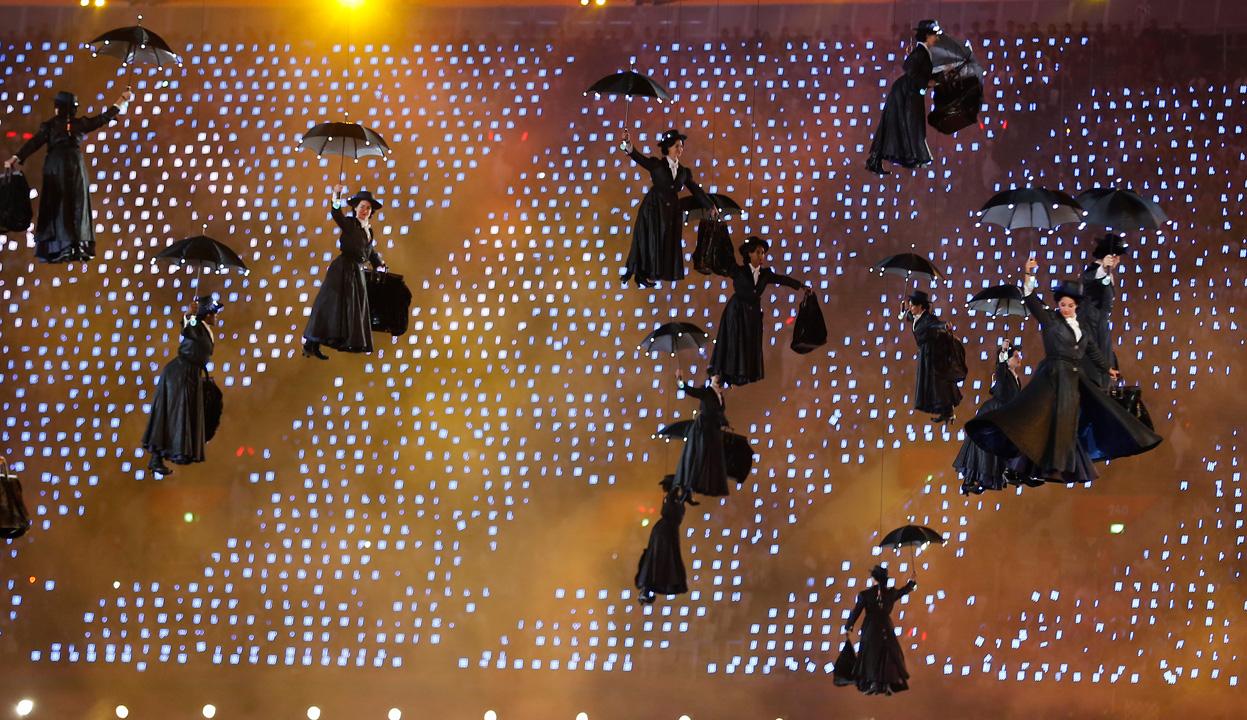 mary poppins london 2012