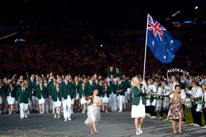 Australia London 2012 Opening Ceremony