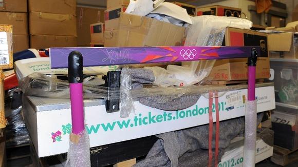 London 2012 auction items 2