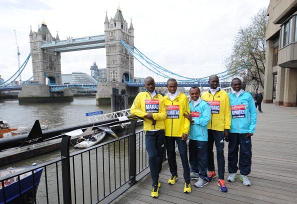 London Marathon elite field April 17 2013