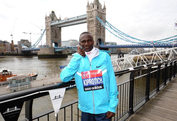 Steven Kiprotich London Marathon April 17 2013