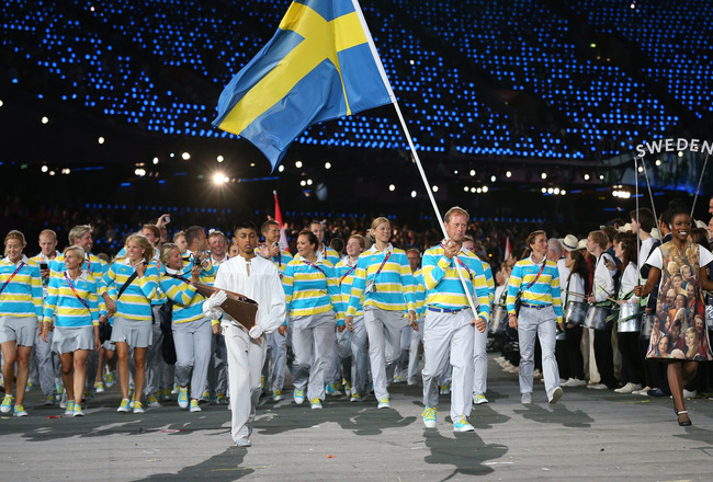 Sweden's uniform for the London 2012 Opening Ceremony was criticised by fashion experts