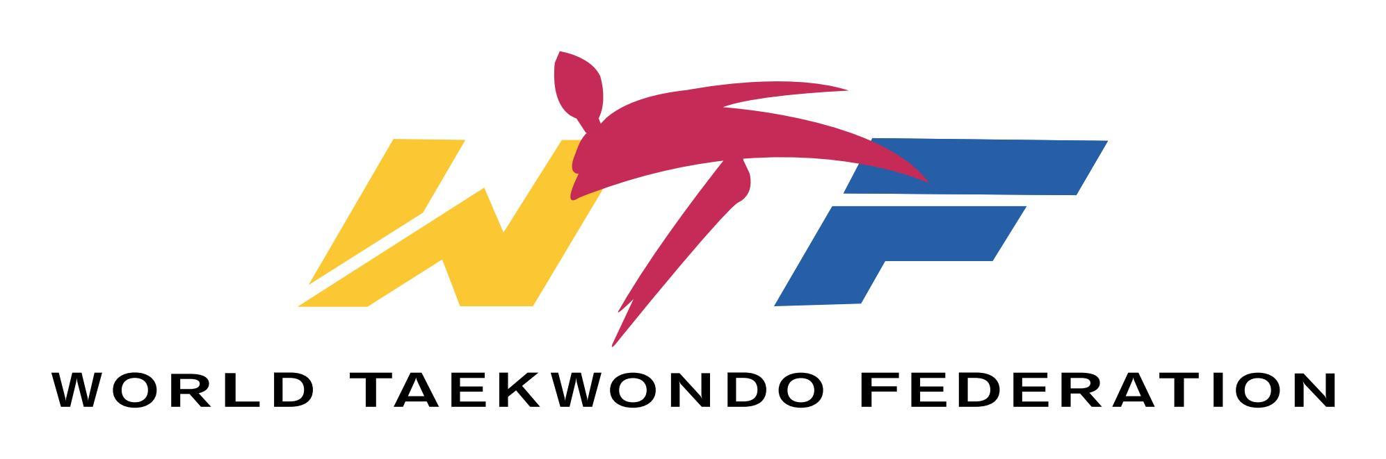 wtf-world taekwondo federation logo